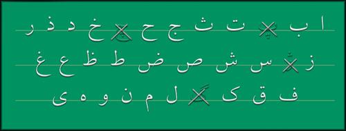 الفبای عربی